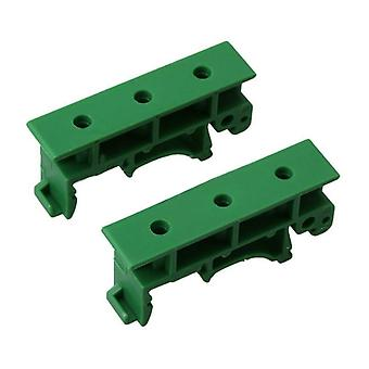 Pcb Mounting Brackets & Screws Fit For Din 35 Mounting Rails.