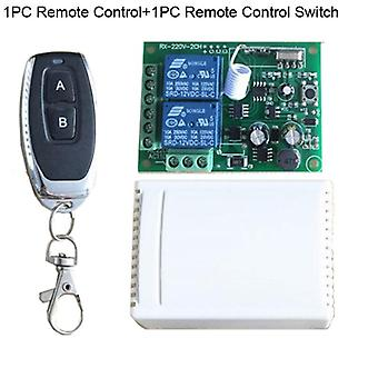 433mhz Remote Control Switch For Lightdoor Garage Universal Remote  Relay Receiver And Controller