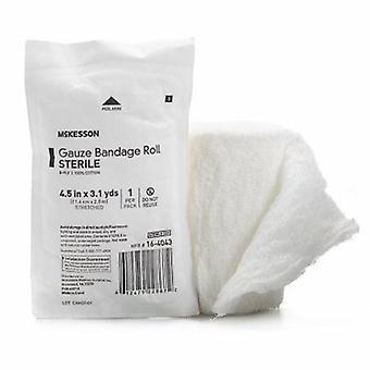 McKesson Fluff Verband Seime Rolle McKesson Baumwolle 6-Ply 4-1/2 Zoll X 3-1/10 Yard Roll Form Sterile, Fall von 100