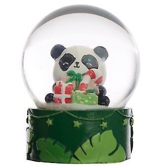 Sammlerstücke Chritmas Pandarama Schneekugel Wasserball