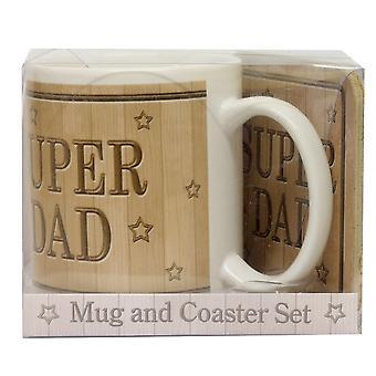 JOE DAVIES Mug Set 61002 B Super Dad