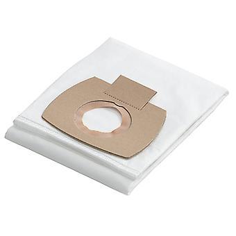 Flex Power Tools Fleece Filter Taschen Packung mit 5 FLX385093