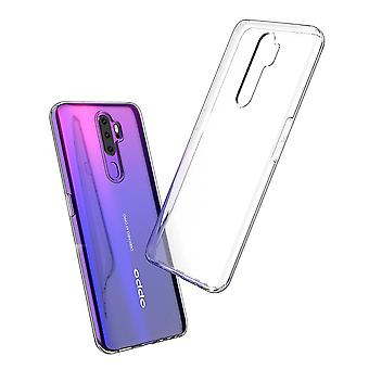 Hull For Oppo A9 2020, High Quality Silicone Protective Cover, Transparent