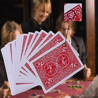 Nieuwe secret marked stripper deck speelkaarten, pokerkaarten magic magic trick