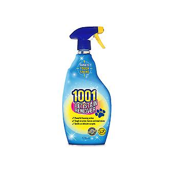 1001 1001 Pet Stain Remover 500ml