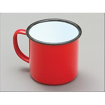 Falcon Enamel Mug Red 8cm 50018