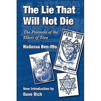 De leugen die niet zal sterven: de protocollen van de oudsten van Zion