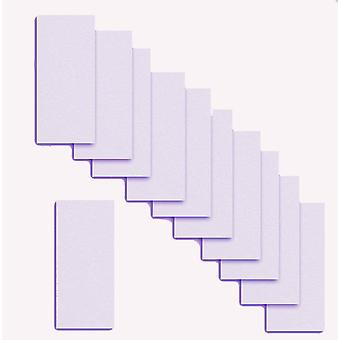 10 Pale Lilac Card Inserts 180 x 128