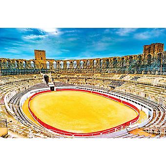 Wallpaper Mural Arena and Roman Amphitheater in Arles (France)