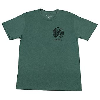 Fish finder tee - green
