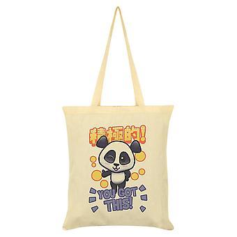 Handa Panda You Got This Tote Bag