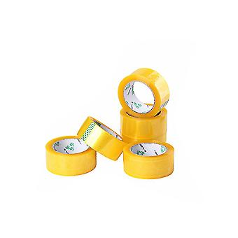 110 Yard Clear Packing Tape 6 Rolls Heavy Duty Adhesive Sealing for