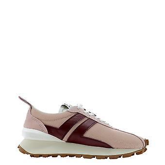 Lanvin Skbrucdra1p21b536 Kvinnor's Rosa Polyester Sneakers