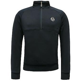 Sergio Tacchini Track Top Half Zip Mens Jumper Sweatshirt Navy 37489 002 A52C
