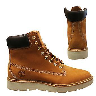 Timberland 6 Zoll Kenniston Weizen Nubuk Leder Schnürung Damen Stiefel A161U