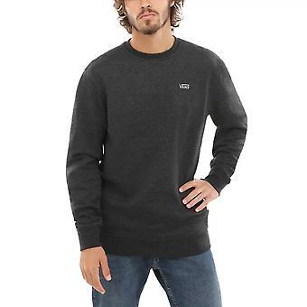 Vans Basic Crew Fleece Sweatshirt Black Heather
