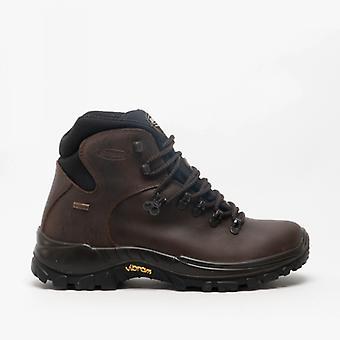 Grisport Everest Mens Leather Trekking Boots Brown