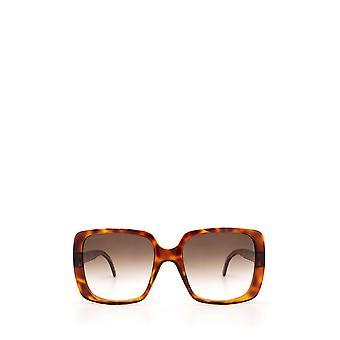 Gucci GG0632S havana kvindelige solbriller