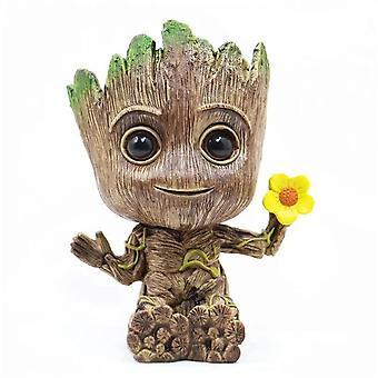 Action Figures Guardians, Baby Grooting Flowerpot, Anime Collection Toy
