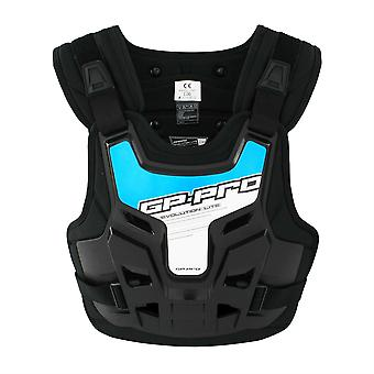 GP-Pro Evolution Lite Body Armour bröst / rygg protector w / blå klistermärke