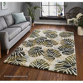 Tasmanien creme grønne tæppe