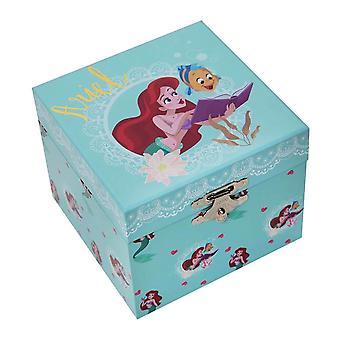 Caixa de Joias Musicais da Princesa Ariel Pastel da Disney