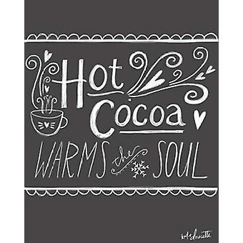 ケイティ デューセッツで熱いココア ポスター印刷