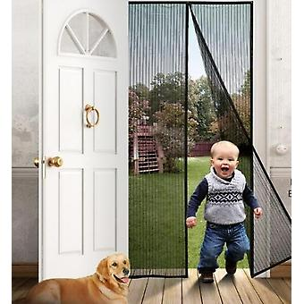 Curtain Magnetic Door Mesh Insect Sandfly Netting With Magnets Mosquito