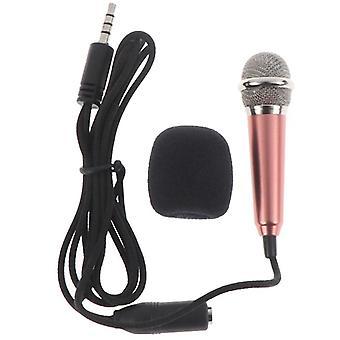 Handheld Mic Portable Mini 3.5mm Stereo Mic Audio Microphone
