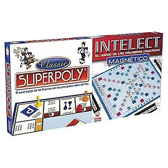Board game superpoly + intelect falomir