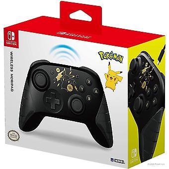 HORI Wireless HORIPAD (Pikachu Black  Gold) for Nintendo Switch
