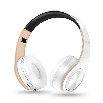 Foldable Adjustable Wireless Bluetooth Headphones