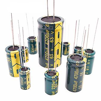 Low Esr High Frequency Aluminum Capacitor