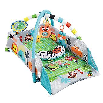 Moni Play Center 2 in 1 Oasis JL628-1B kruipen deken, spelen Bow speelgoed kussen