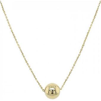 Mark Milton Bead and Chain Necklace - Gold