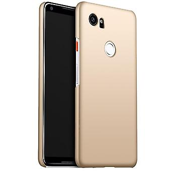 Ultra thin case for google pixel 2 anti fall shockproof cover gold kc974