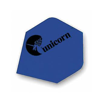 Unicorn Darts Maestro.100 Plus Flights Micron Logo Ultra Strong - Blue