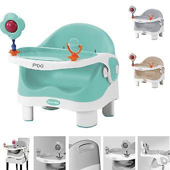 Fotel dziecięcy Lorelli PIXI, fotel dziecięcy, podnośnik fotela, fotel, stół