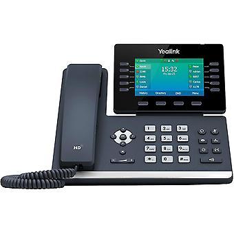 Wokex IP Telefon SIP-T54W VoIP-Telefon, schwarz