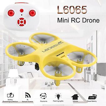 Nicce Mini RC Quadcopter Infrared Controlled Drone(Yellow)