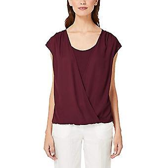 s.Oliver BLACK LABEL 11.907.32.6881 T-Shirt, Red (Wonder Bordeaux 3976), 42 (Size Manufacturer: 36) Woman