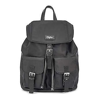Buffalo Oksana, Backpack Bag. Woman, Black, One Size