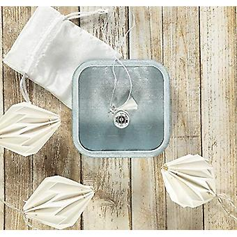 Nibbling Bola - Pregnancy necklace, color: White/Star