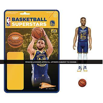 Nba Reaction Figure - Steph Curry (Warriors) Usa import