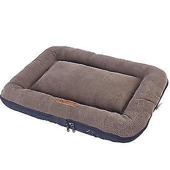 90 * 65 *7cm茶色のペットパッド屋内すべての季節耐水性耐久性のある犬のベッドx4799