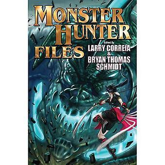 Monster Hunter Files Bok 7 Inkover