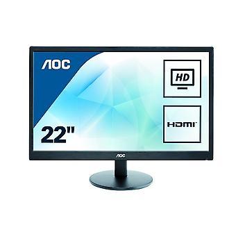 AOC 21.5 inch LED Monitor HDMI, VGA, Vesa E2270SWHN