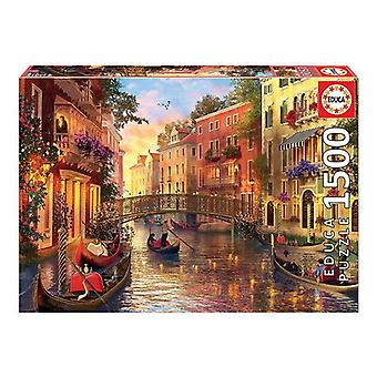 Puzzle Educa Sunset in Venezia (1500 pcs)