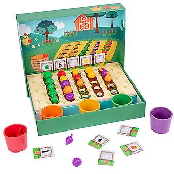 Montessori Educational Toys for Children Early Learning Kids Intelligence Farm Plantation Teaching Aids Simulated Practical Life