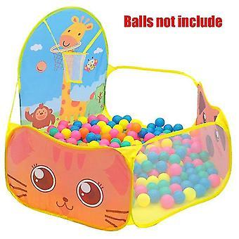 جديد gr0052yellow الطفل playpen ملعب الكرة حفرة الجافة حمام السباحة كرة السلة طوق خيمة المحمولة sm16587
